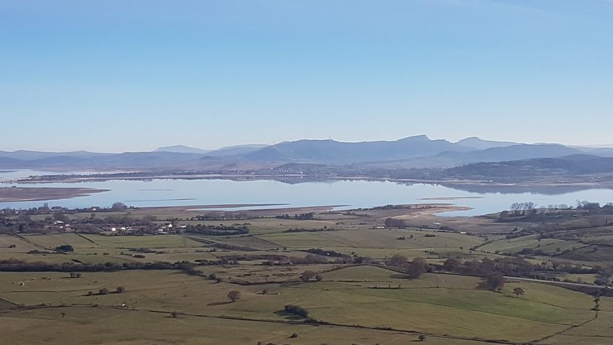 El embalse del Ebro se mantiene al 36,2% de su capacidad