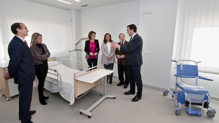 Centralizados en un nuevo espacio en Pamplona los servicios de apoyo a las personas con discapacidad y dependencia