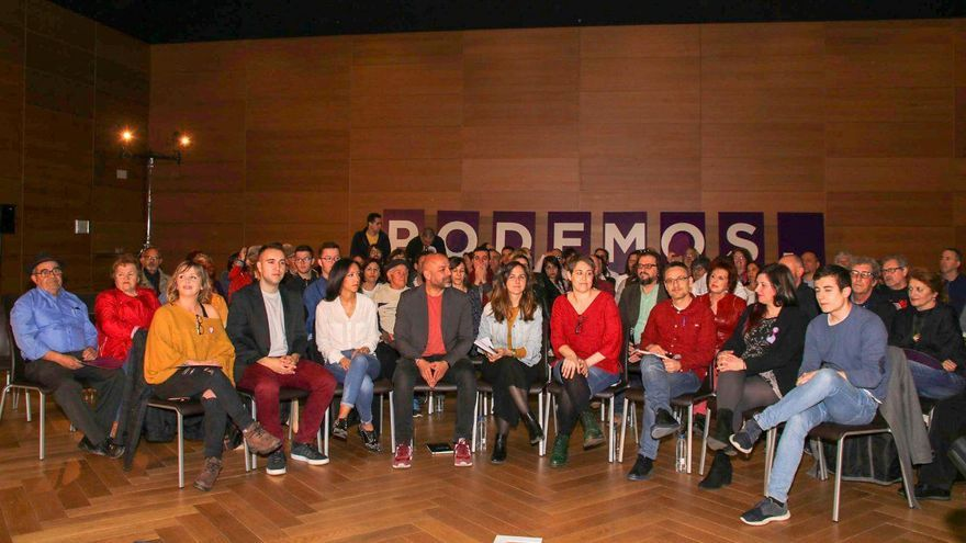 Acto de Podemos en Toledo