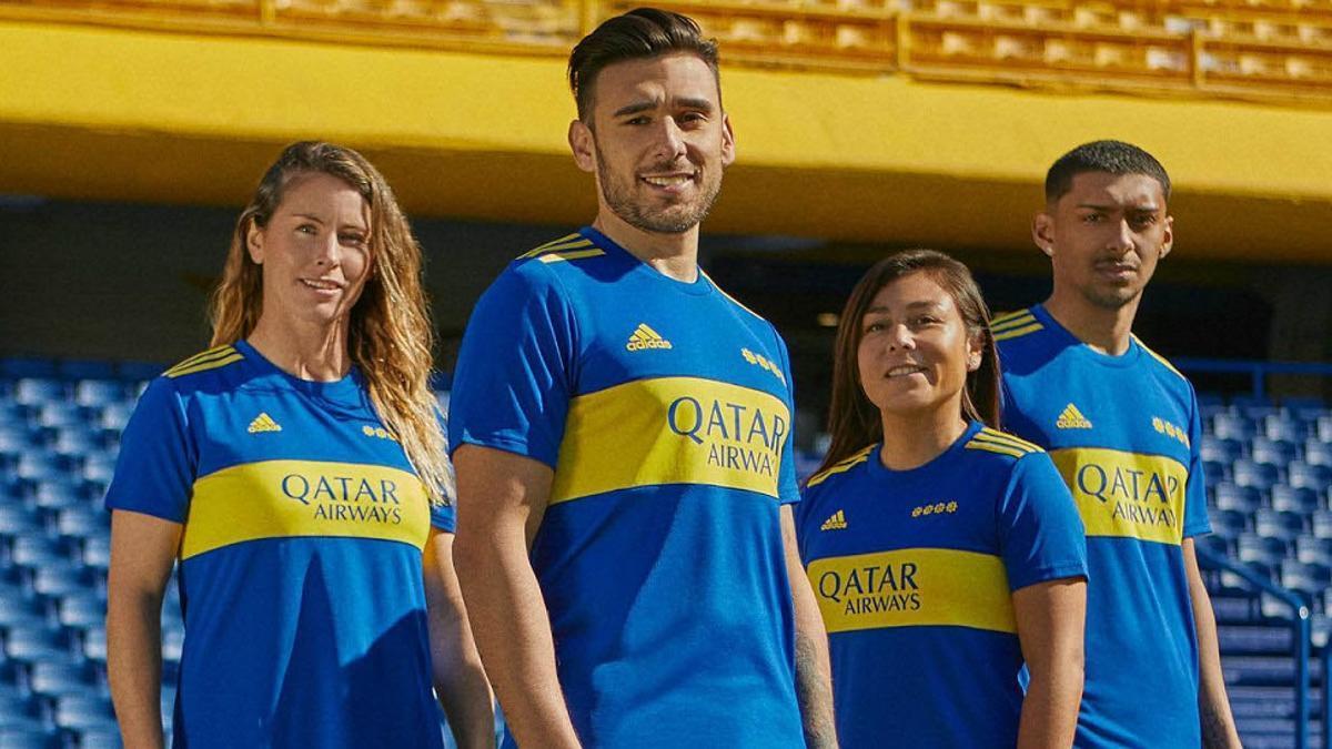 Boca lanzó su nueva camiseta.