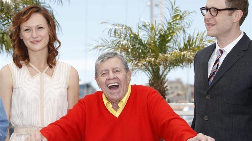 Jerry Lewis, puro espectáculo en Cannes