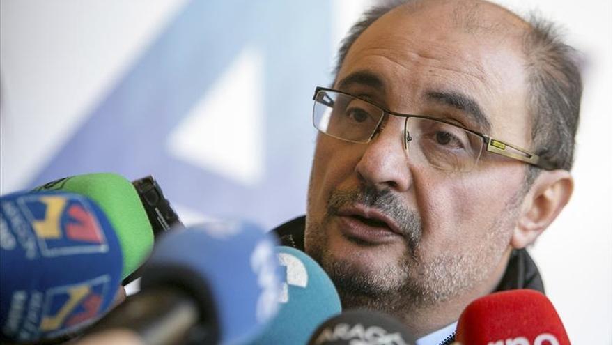 """El presidente de Aragón dice que estos comicios abren """"un nuevo tiempo"""" para España"""