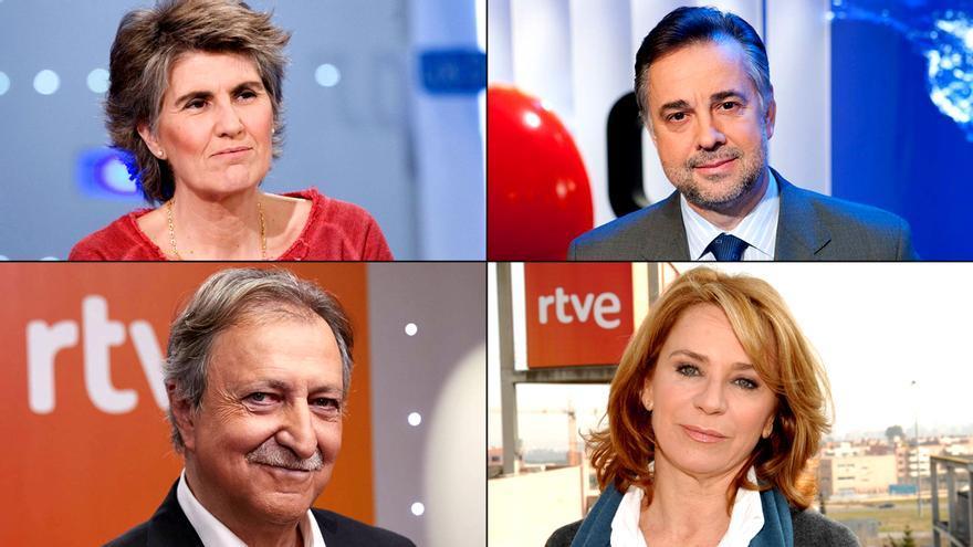 Paloma del Río, Jenaro Castro, Lobatón y Elena Sánchez, entre los candidatos