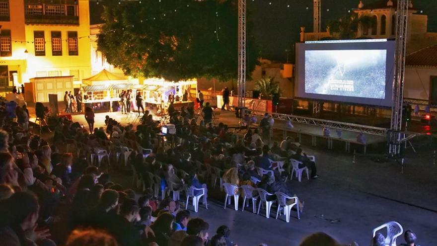 Proyecciones este vierne en la Plaza de Santo Domingo.