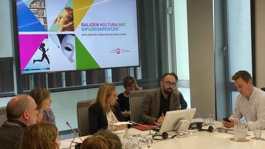 La renovación el Koldo Mitxelena, entre los retos de Denis Itxaso para la próxima legislatura