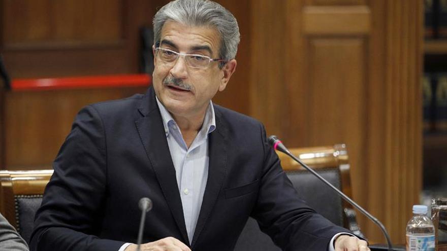 El diputado de Nueva Canarias Román Rodríguez