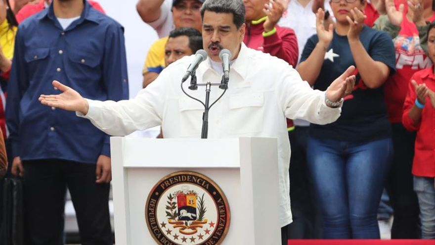 Maduro confirma que hay contacto entre su Gobierno y el de Estados Unidos