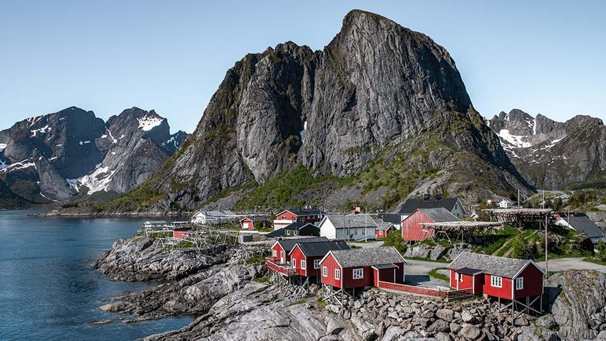 Las islas Lofoten, en Noruega.