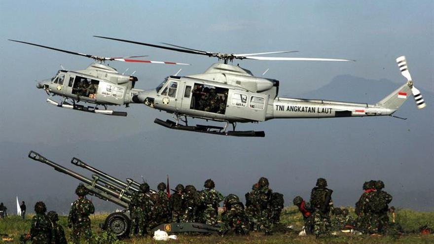 Indonesia incrementa su presupuesto en defensa entre tensiones territoriales