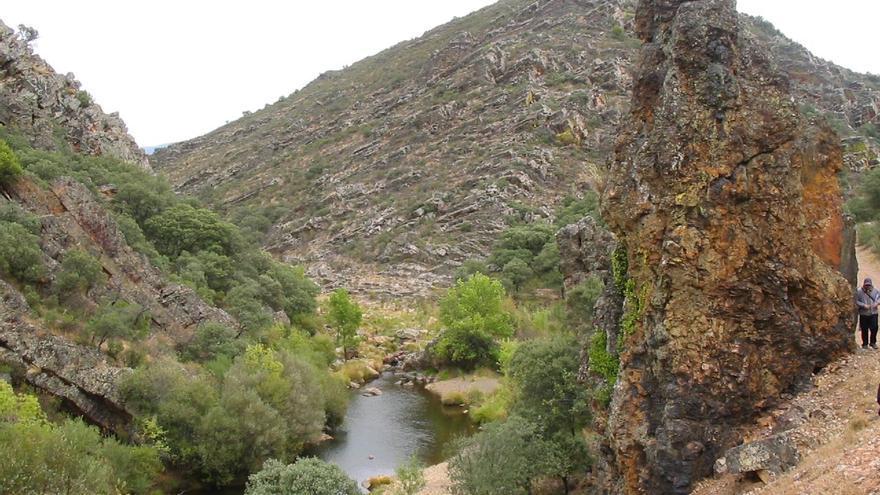 Ruta del Boquerón (abertura), en Navas de Estena