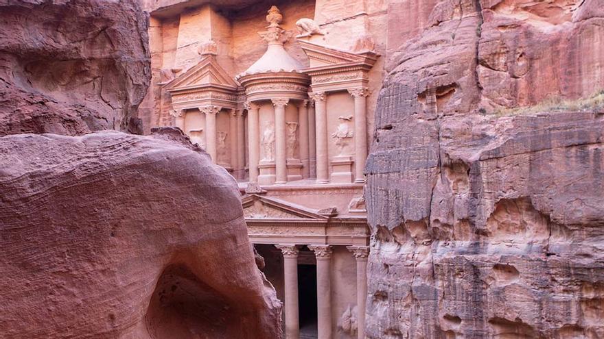 El Tesoro, la tumba más famosa de Petra