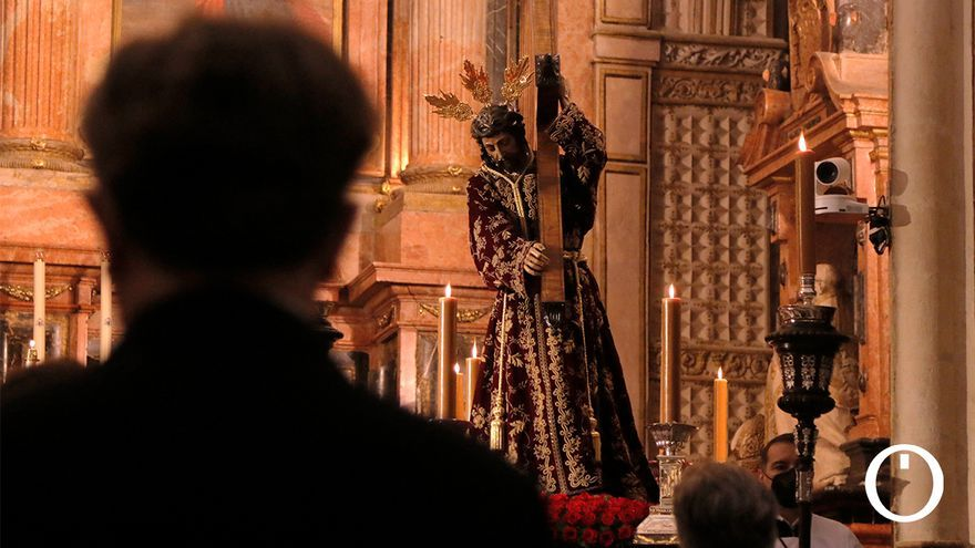 Íntimo primer sábado de Cuaresma junto a Jesús Nazareno