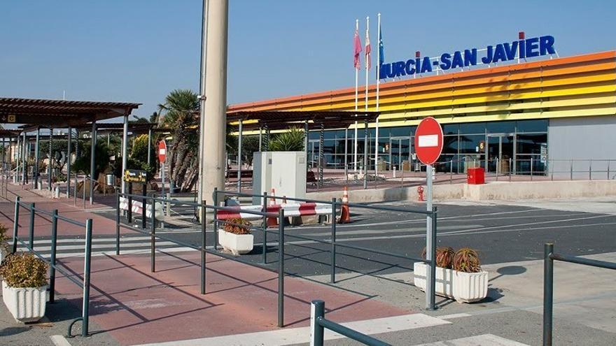 Aeropuerto de San Javier, en Murcia / FOTO: AENA