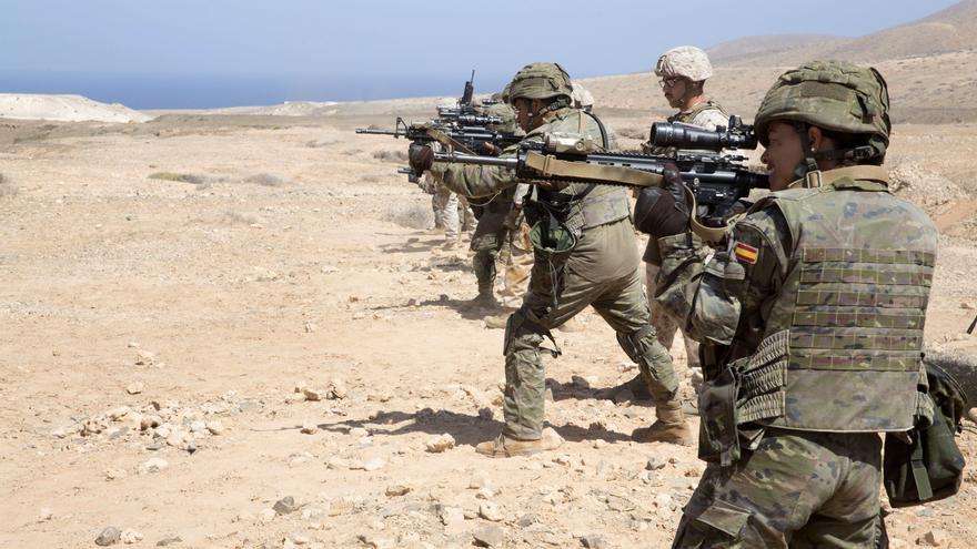 Ejercicios del Ejército de Tierra en Canarias