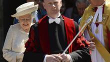 Un acto solemne marca los 60 años de la coronación de Isabel II en el R.Unido