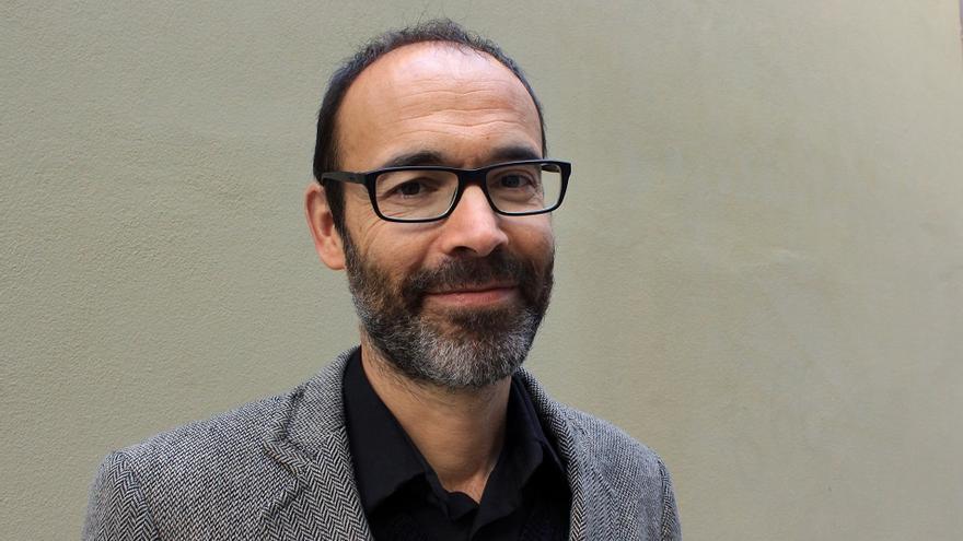 El escritor Gabi Martínez