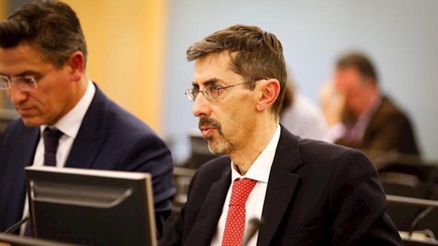 El viceconsejero de Transparencia de la Junta de Castilla y León, Fernando Navarro.