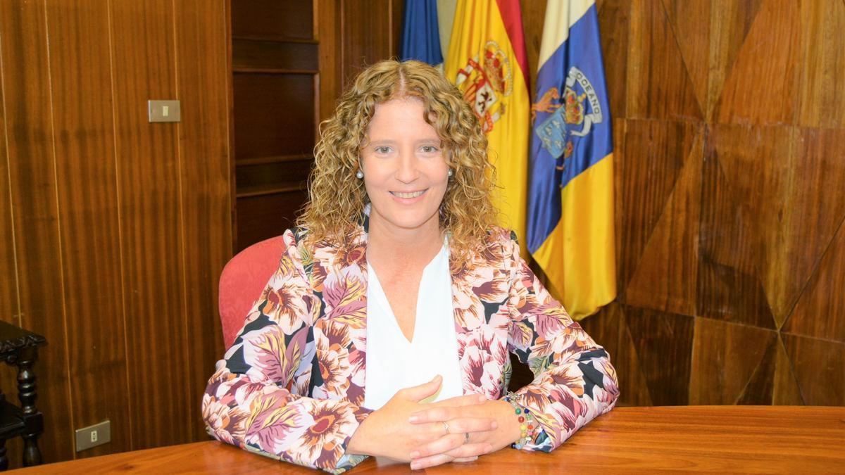 Raquel Díaz, consejera de Promoción Económica, Comercio y Empleo del Cabildo de La Palma.
