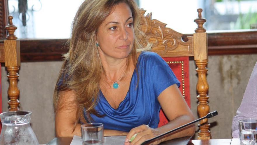 Marta Poggio, concejal de Fiestas de Santa Cruz de La Palma
