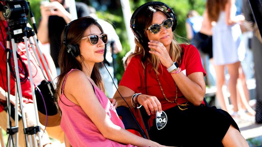 Noemí Galera y Ana Guerra en los castings de OT 2018