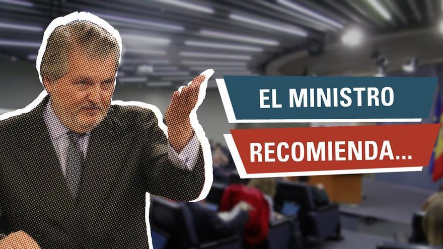 El ministro recomienda
