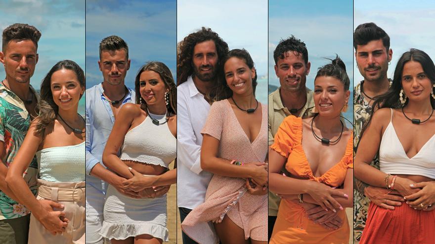 'La isla de las tentaciones' muestra los posados de sus parejas para la tercera edición en Mediaset