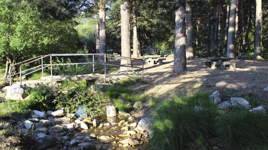 Área recreativa La Panera / Turismo de Segovia.
