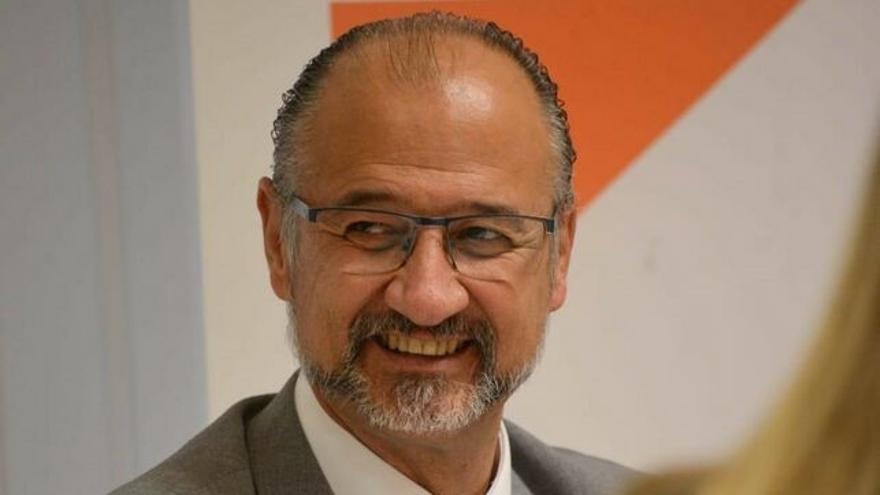 Luis Fuentes, presidente de las Cortes de Castilla y León.