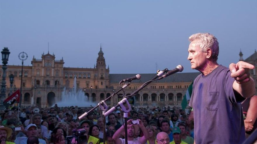 Cañamero se ofrece a Podemos para encabezar la lista electoral por Jaén