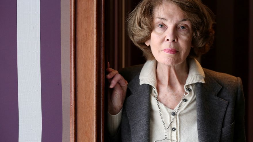 La presidenta de honor de ATTAC, la politóloga Susan George.