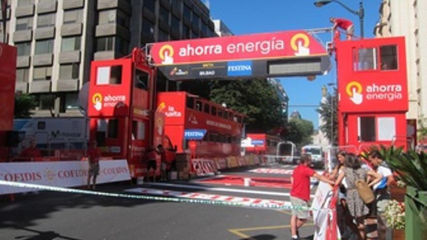 Vuelta Ciclista A España En Bilbao