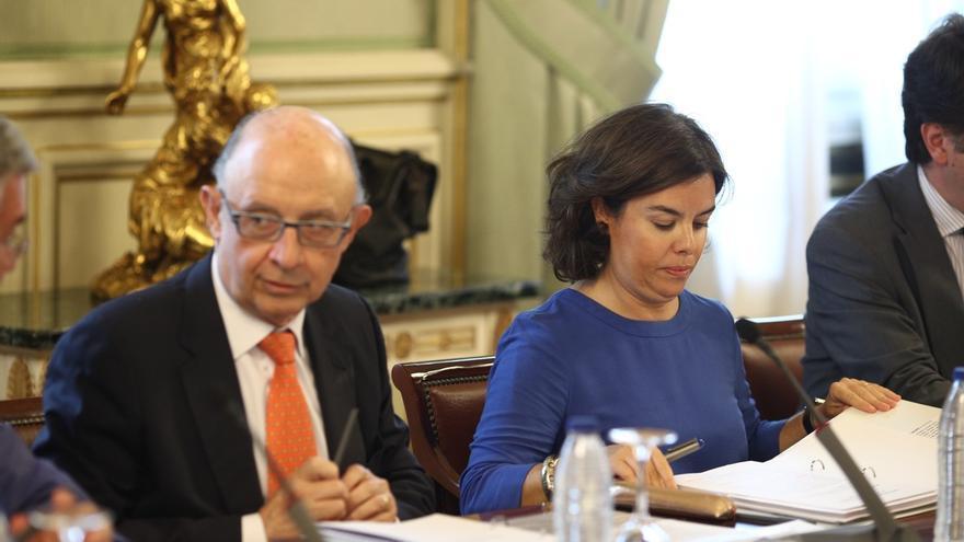 """Sáenz de Santamaría destaca el """"alto grado de cumplimiento"""" en los temas acordados en la Conferencia de Presidentes"""