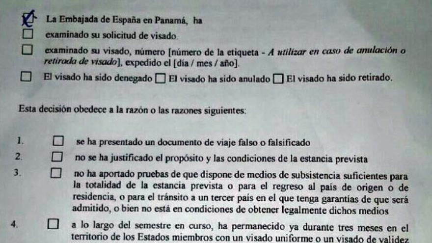 La Embajada de España en Panamá