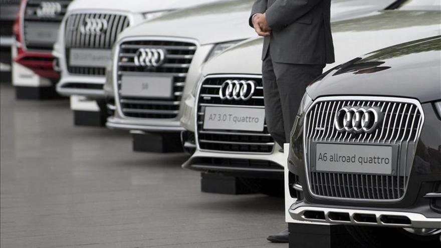 Audi bate en 2013 un récord de ventas con 1.575.500 vehículos, un 8,3 por ciento más