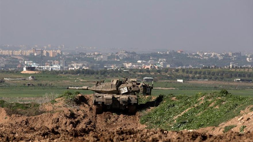Tanques israelíes bombardean posiciones de Hamás en Gaza
