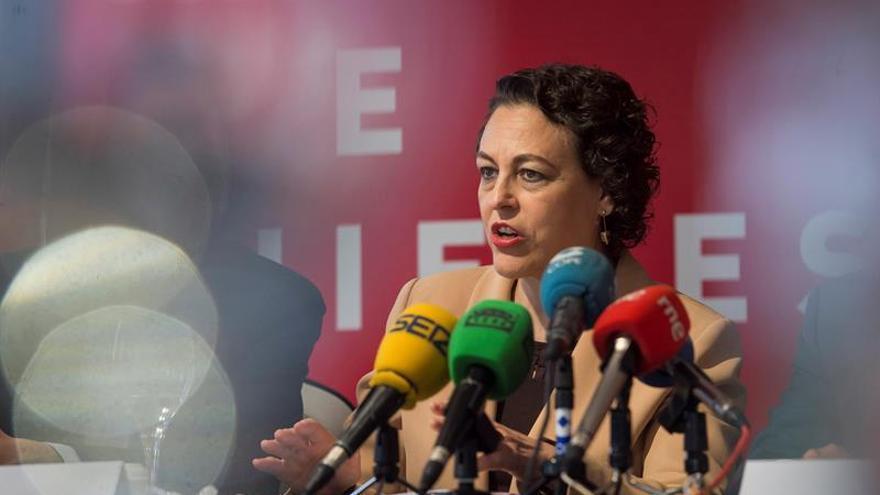 Magdalena Valerio, ministra de Trabajo en funciones, en una imagen de archivo.