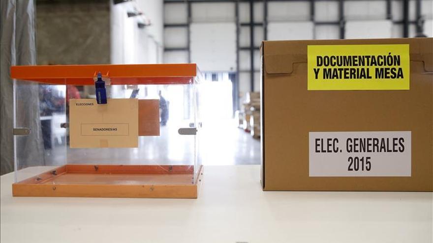 Mesas electrónicas en los colegios de Madrid acelerarán el recuento de votos