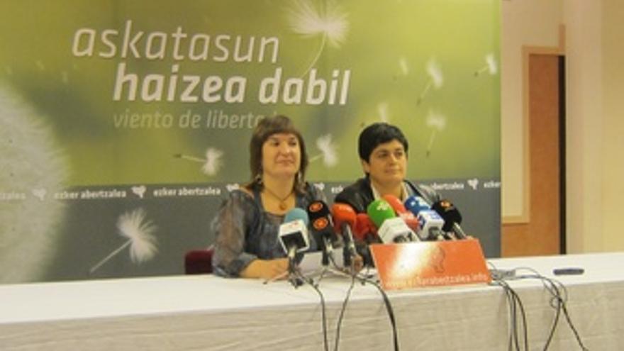 Maribi Ugarteburu Y Marian Beitialarrangoitia.