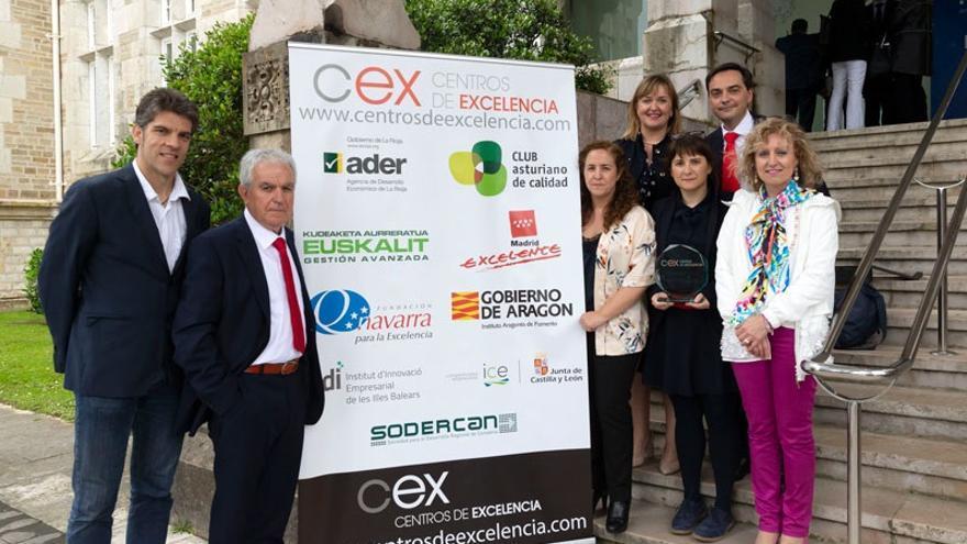 La empresa cántabra Vitrinor, galardonada con el Premio CEX 2018 a las Buenas Prácticas en Gestión del Crecimiento