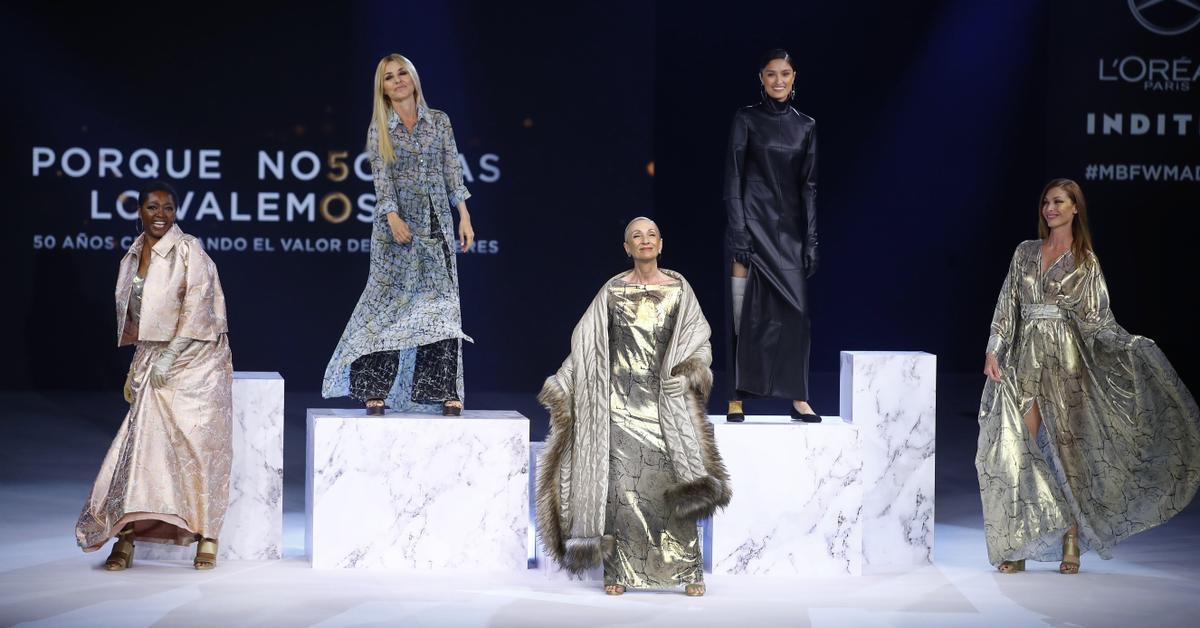 """Yelimar Moreno, finalista de """"Maestros de la Costura"""", desfila en Madrid"""