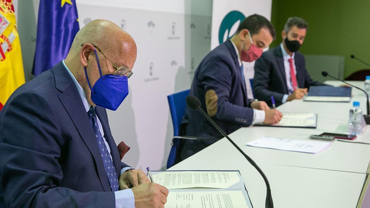 Acuerdo entre la IGP Berenjena de Almagro y la Fundación Dieta Mediterránea