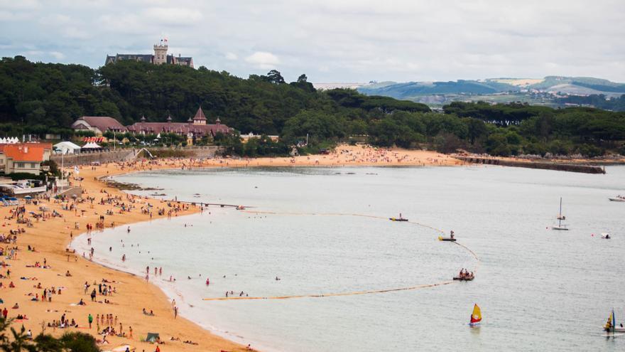 La Península de La Magdalena, en Santander.   JESÚS HERMOSA