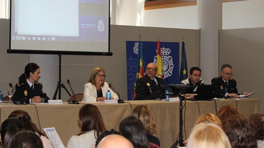 Imagen de una de las ponencias del seminario