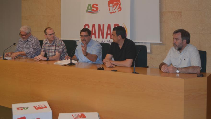 Acto sobre empleo celebrado en CCOO Murcia