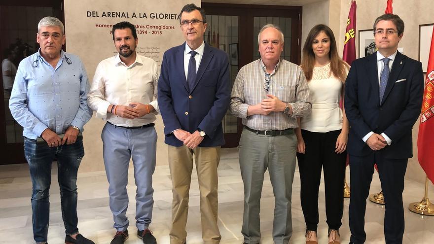 Acuerdo presupuestario en el Ayuntamiento de Murcia entre PP y Cs