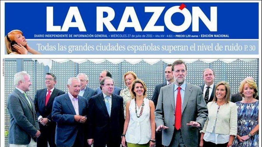 De las portadas del día (27/07/2011) #10
