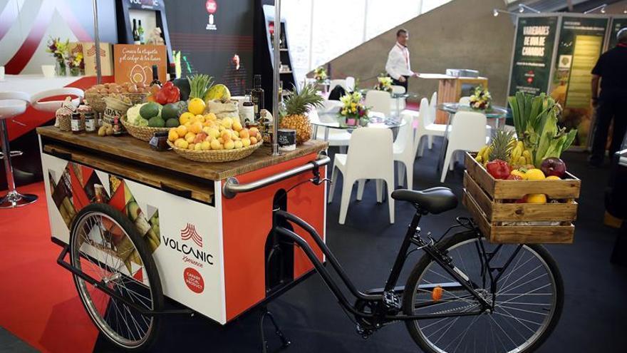 Productos frescos de las islas en el salón GastroCanarias 2019, inaugurado este martes en Santa Cruz de Tenerife