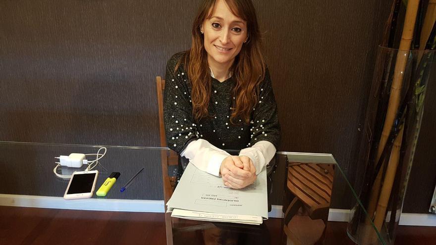 Lara Esteve, jueza especializada en Violencia de Género.