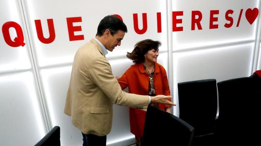 Calvo: el PSOE hablará con mucha gente pero las líneas rojas están muy claras