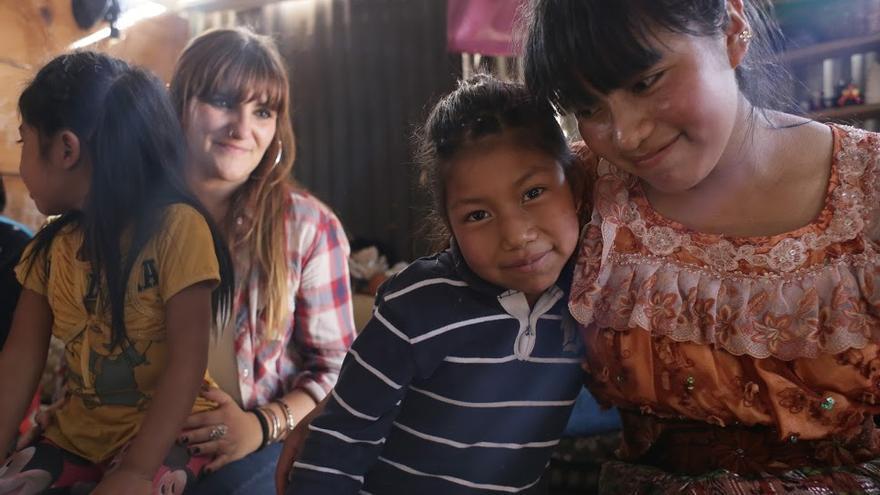 Rozalen durante su estancia en Guatemala